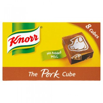 Knorr Pork Stock Cubes 8 X 10G