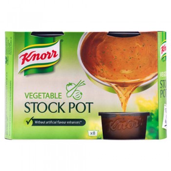 Knorr Vegetable Stock Pot 8'S 224G