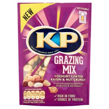 Kp Grazing Mix Yoghurt And Raisin 125G