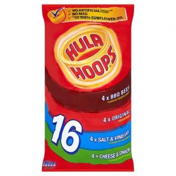 Kp Hula Hoops Variety 16X24g