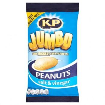 Kp Jumbo Salt And Vinegar Flavoured Peanuts 180G