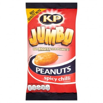 Kp Jumbo Spicy Chilli Peanuts 180G
