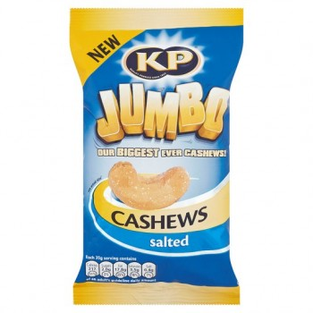 Kp Nuts Jumbo Salted Cashews 140G