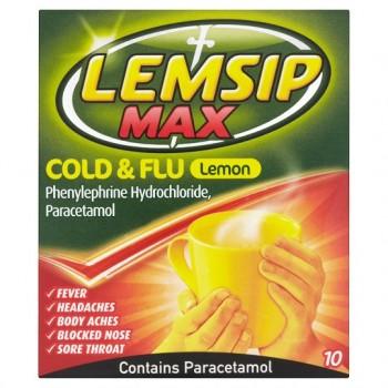 Lemsip Max Strength 10 Sachets