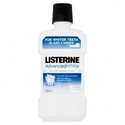 Listerine Advance White Mouthwash 500Ml