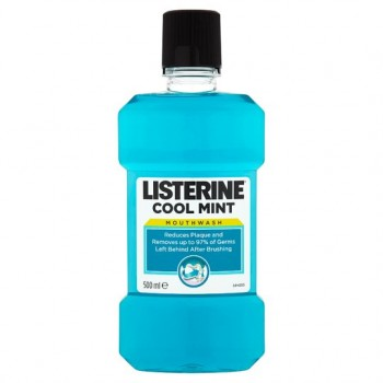 Listerine Coolmint Mouthwash 500Ml