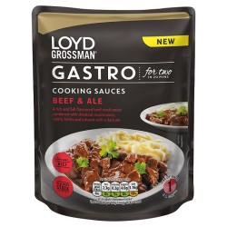 Loyd Grossman Beef And Ale 350G