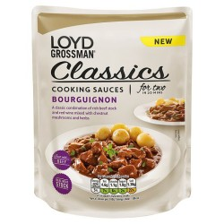 Loyd Grossman Beef Bourguignon 350G