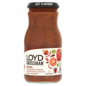 Loyd Grossman Sweet Tomato Bhuna Curry Sauce 350G
