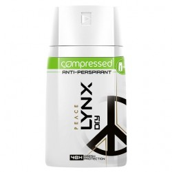 Lynx Dry Peace Antiperspirant Deodorant Compressed 100Ml