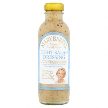 Mary Berry Light Salad Dressings 265G