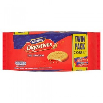 Mcvities Digestive Twin Pack 2 X 500G