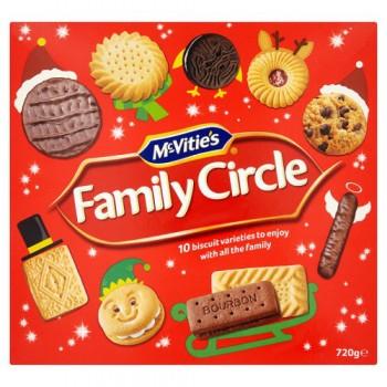 Mcvitie's Family Circle 720G