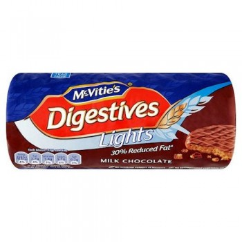 Mcvities Light Milk Chocolate Digestives 300G