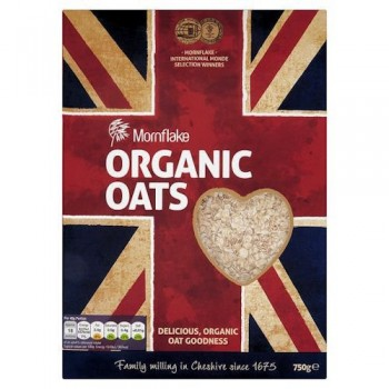 Mornflake Organic Oats 750G
