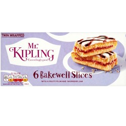 Mr Kipling Bakewell slice 6