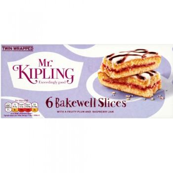 Mr Kipling Bakewell slice 6