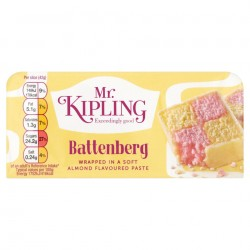 Mr Kipling Exceedingly Good Battenberg Cake (230g)