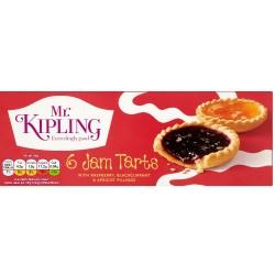 Mr Kipling Jam Tarts (6 per pack - 235g)