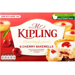 Mr Kipling cherry bakewell 6