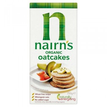 Nairns Organic Rough Oatcakes 250G