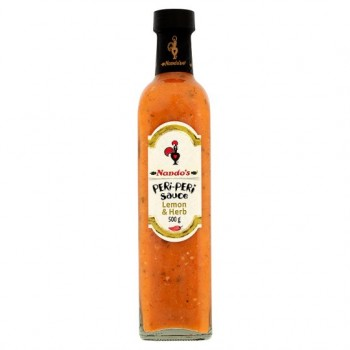 Nandos Peri Peri Sauce Lemon And Herb 500G