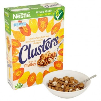 Nestle Clusters Cereal 435G
