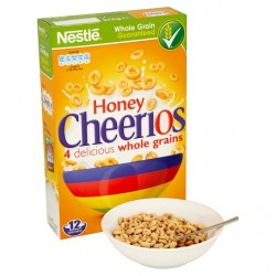 Nestle Honey Cheerios Cereal 375G