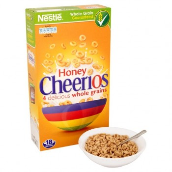 Nestle Honey Cheerios Cereal 565G