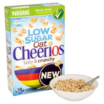 Nestle Oat Cheerios Low Sugar 325G