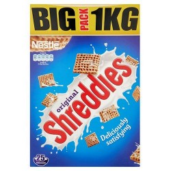 Nestle Shreddies Cereal 1Kg