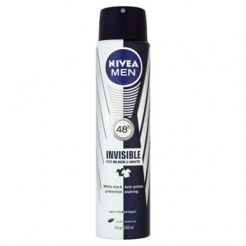 Nivea Black And White Power Antiperspirant Deodorant 250Ml