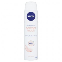 Nivea Deodorant Powder Touch Antiperspirant Deodorant 250Ml