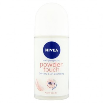 Nivea Deodorant Powder Touch Roll On 50Ml
