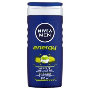 Nivea Energy Shower Gel Men 250Ml