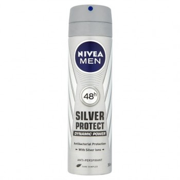 Nivea For Men Silver Protect Antiperspirant Deodorant 150Ml