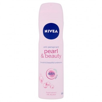 Nivea For Women Pearl And Beauty Antiperspirant Deodorant 150Ml