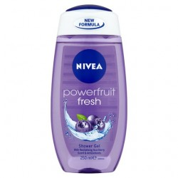 Nivea Powerfruit Fresh Shower Gel 250Ml