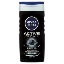 Nivea Shower Gel Act Cln 250Ml