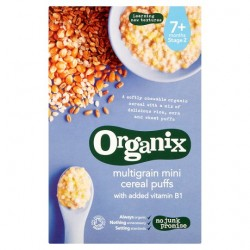 Organix Multigrain Mini Puff 90G