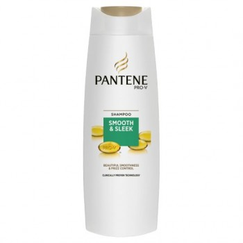 Pantene Smooth And Sleek Shampoo 250Ml