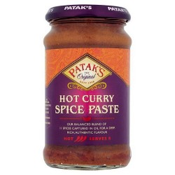 Pataks Extra Hot Curry Paste 283G