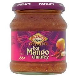 Pataks Hot Mango Chutney 340G