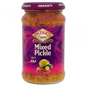 Pataks Hot Mixed Pickle 283G
