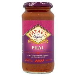 Patak's Phal Cooking Sauce 450G