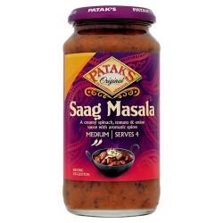 Patak's Saag Masala Cooking Sauce 450G