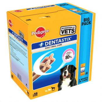 Pedigree Daily Denta Stix Large Dog 56 Stick