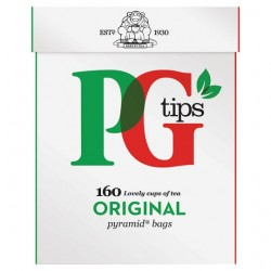 Pg Tips 160S Pyramid Teabags 464G