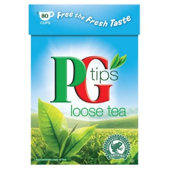 Pg Tips 80 Cups Loose Tea 250G