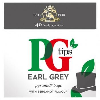 Pg Tips Earl Grey Tea Bags 40'S 100G
